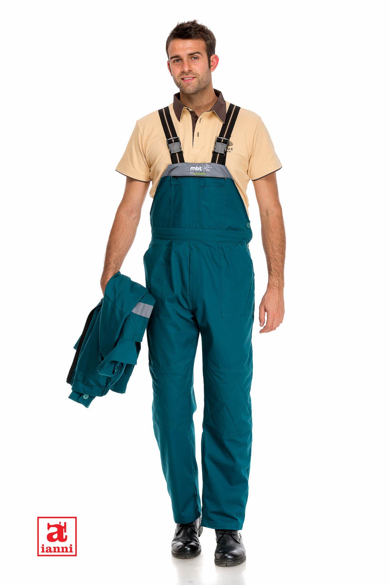 Pantaloni de lucru pe santier